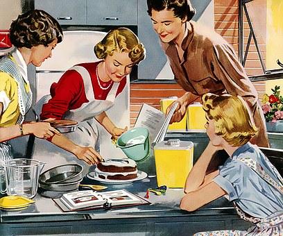 Faites la cuisine en famille, un bonheur pour tous!