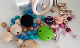 Choisir les bons matériaux pour créer son attache tétine